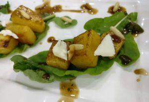 Roasted Pumpkin and Feta Salad