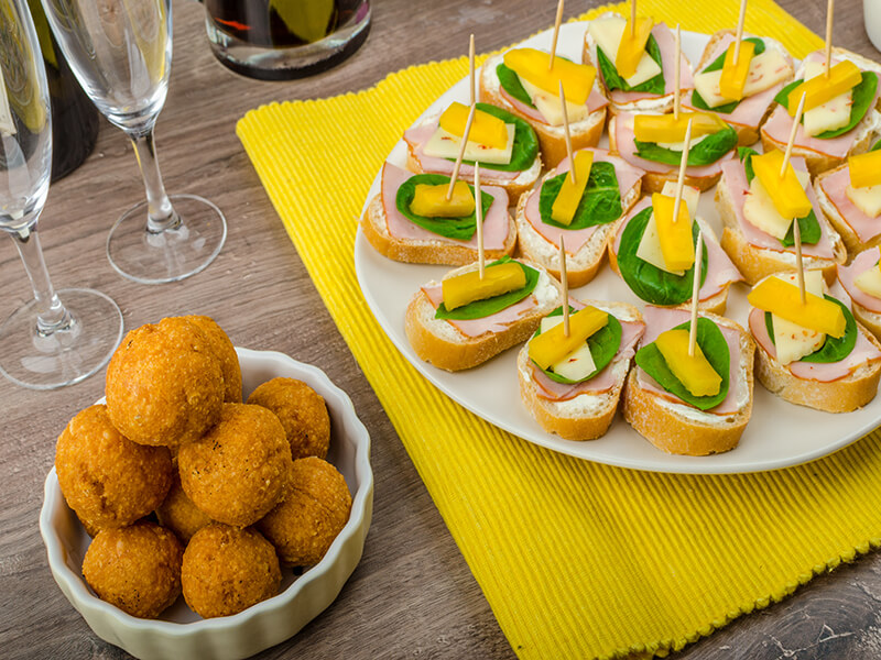 Best New Year's Party Snacks