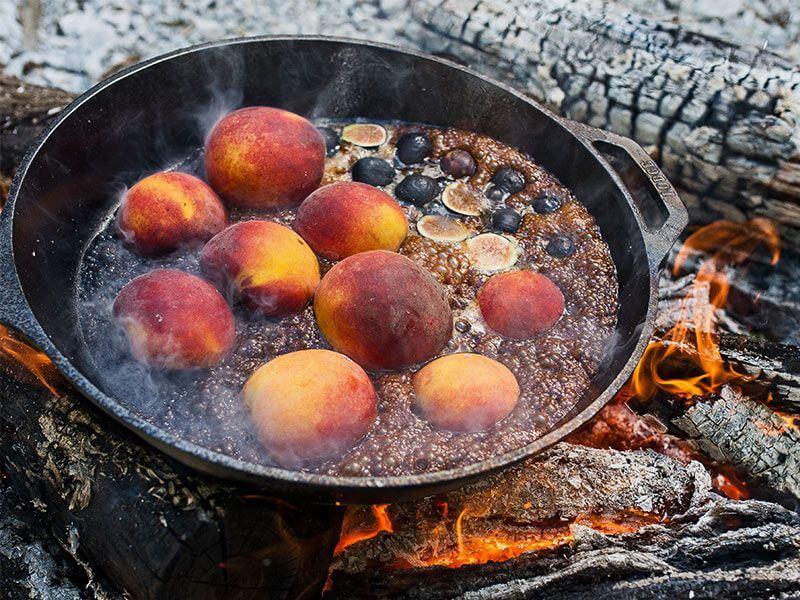 Campfire Cobbler