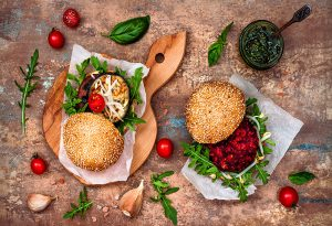 4 Veggie Burgers Perfect For After School Snacking
