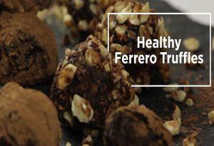 7 Ingredient divine paleo truffles