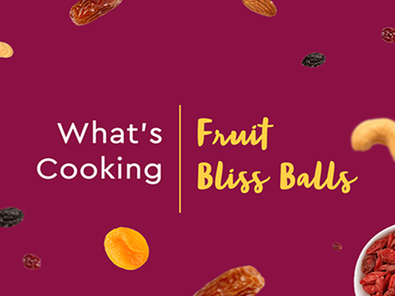 Easy Fruit Bliss Ball Recipe