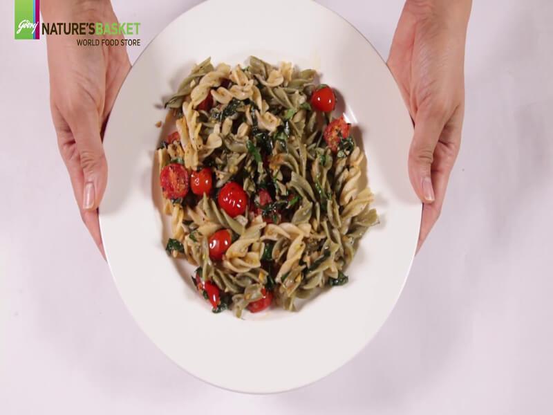 Gluten Free Aglio Olio Pasta Recipe