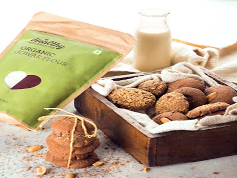 Gluten - Free Jowar Biscuits