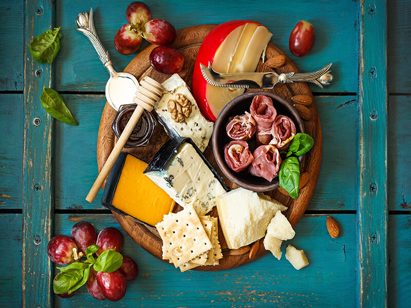 Perfect Meat And Cheese Board