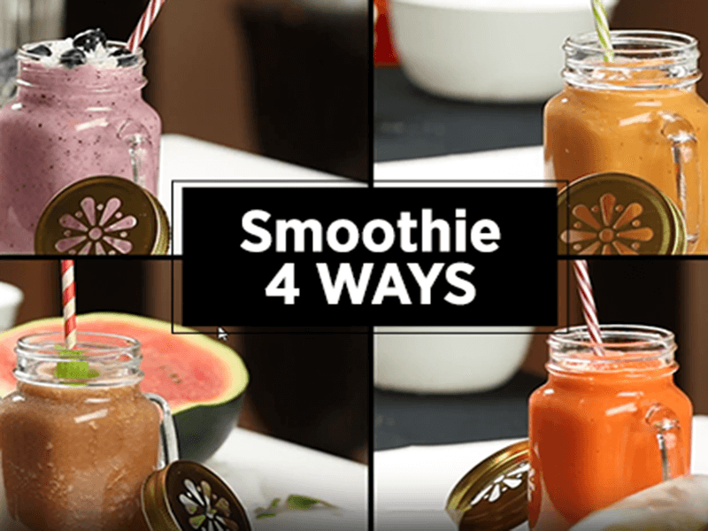 Smoothie 4 Ways