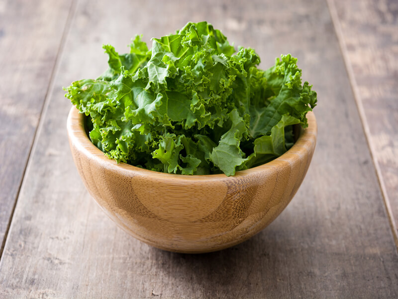 Tasty twist to Kale