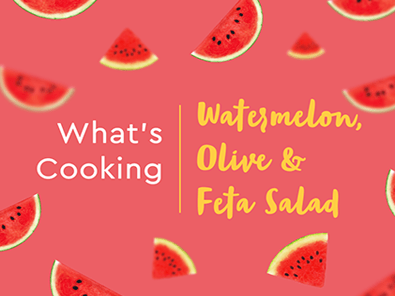 Watermelon Feta Salad At Home
