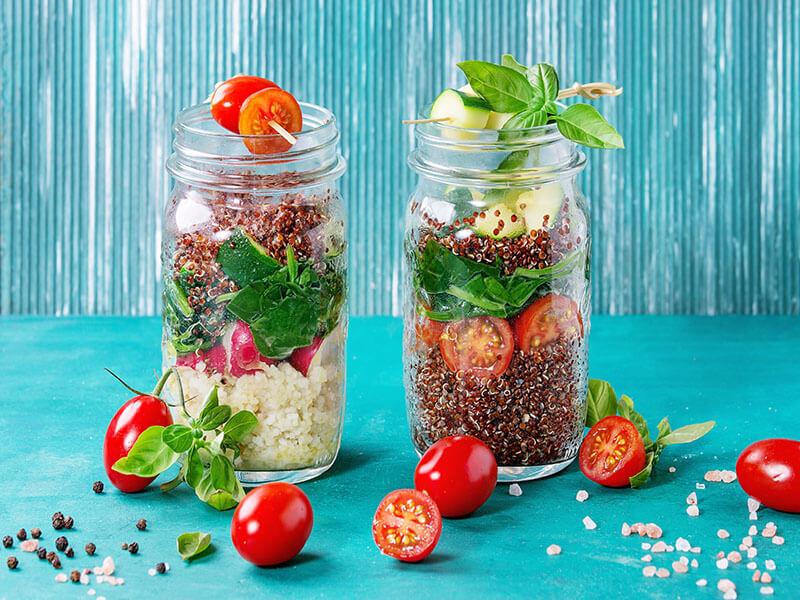 Mason Jar Salads You Can Make For Work