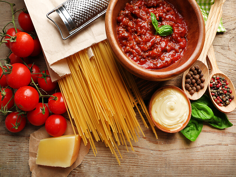 Match-making with Pasta & Sauce