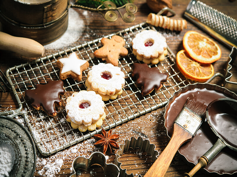 Of Christmas Cakes and Bakes!
