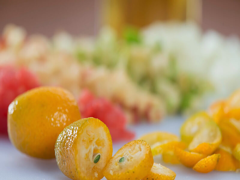 Specifically to talk about kumquats
