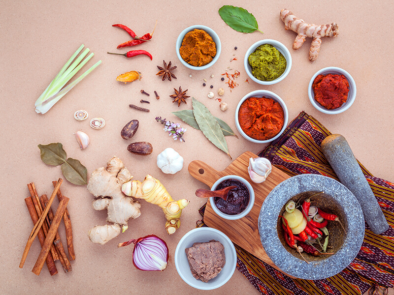 The colourful flavours of Thai Cuisine