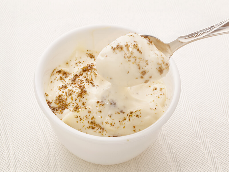 yogurt with chia seeds