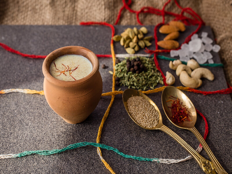 Almond Thandai