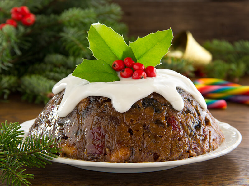 Christmas Pudding (England)