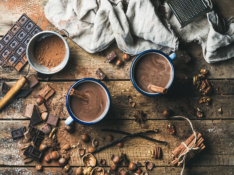 Gourmet Hot Chocolate – 3 Ways
