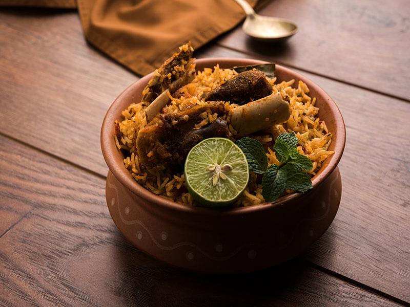 Lucknowi Mutton Biryani