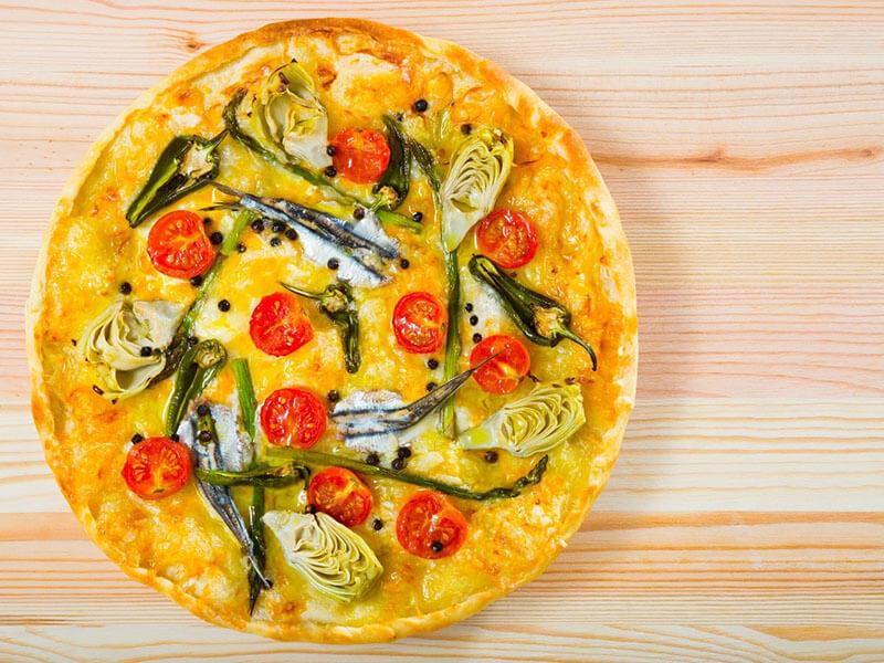 Spring Veggie Pizza