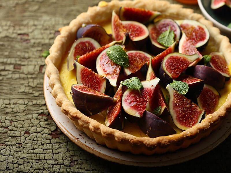 Apple and Fig Custard