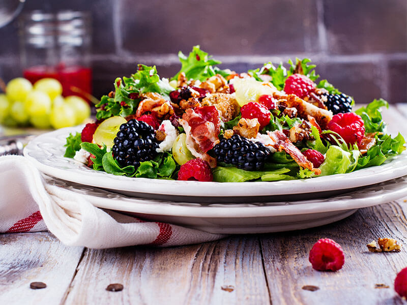 Grilled Chipotle Chicken With Berry Salsa