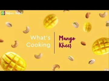 What's Cooking -  Mango Kheer
