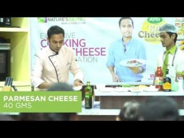 Ricotta Chunks with Zucchini Salad with Chef Saransh Goila
