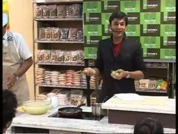 Celebrating Healthy Alternatives with Michelin Chef: Vikas Khanna at Nature's Basket- PART 3