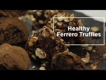 Healthy Ferrero Truffles