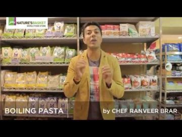 Ranveer Brar shares his expert tips on how to boil pasta