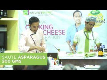 Asparagus Goat Cheese Frittata with Chef Saransh Goila