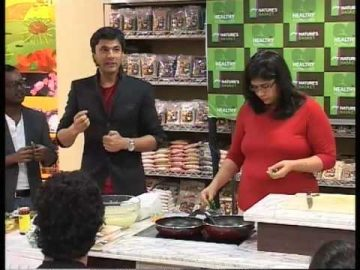 Celebrating Healthy Alternatives with Michelin Chef: Vikas Khanna at Nature's Basket- PART 5