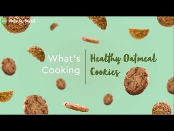 What's Cooking - Healthy Oatmeal Cookies
