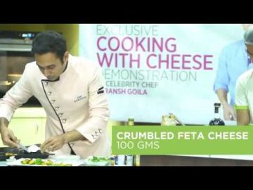 Roasted Pumpkins and Feta Salad with Chef Saransh Goila