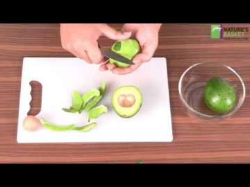 How To Cut An Avocado - The Wonder Fruit by Godrej Nature's Basket
