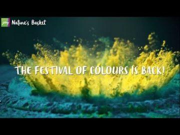 Celebrate Holi With Godrej Nature's Basket
