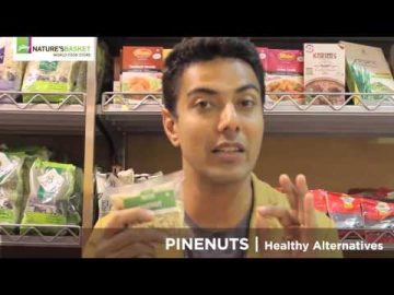 Chef Ranveer Brar recommends Pine nuts as healthy  alternatives- Godrej Natures Basket