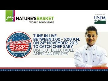 American Food Festival at Godrej Nature's Basket