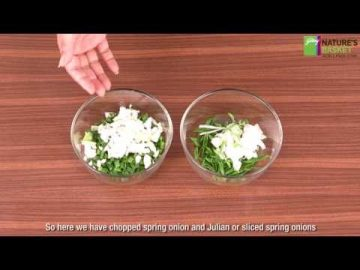 How To Chop Spring Onions - The Right Technique By Godrej Nature's Basket
