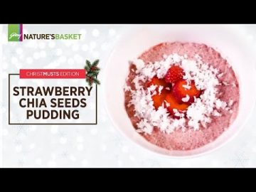 What's Cooking - Strawberry Chia Seed Pudding (ChristMUSTs Edition)