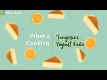 What's Cooking - Tangerine Yogurt Cake