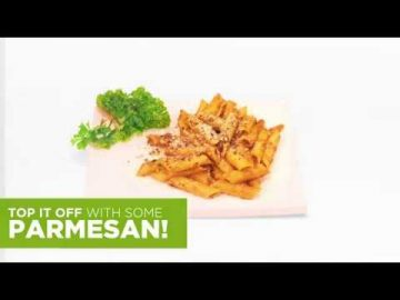 What's Cooking - Parmesan Penne Arrabiata