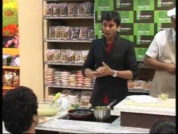 Celebrating Healthy Alternatives with Michelin Chef: Vikas Khanna at Nature's Basket- PART 4