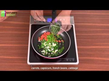 How To Make Vegetable Fried Rice by Godrej Nature's Basket
