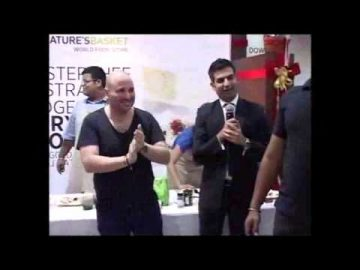 MasterChef Australia Judges Gary & George Unplugged At Godrej Nature's Basket (Delhi) - 26/10/2012