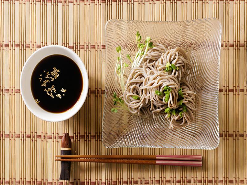 Cucumber Noodle Soba Salad