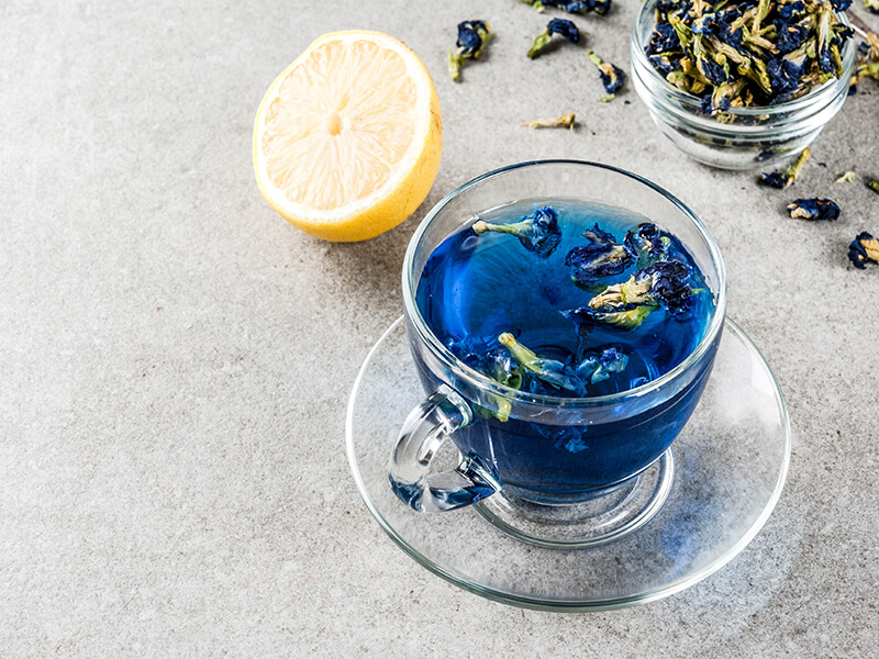 Have You Tried The Butterfly Pea Flower Tea Yet