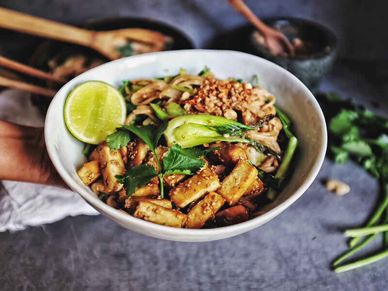 Delightful One Pot Pad Thai Noodles